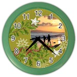 ShabbyChristmas Vol1 - Color Wall Clock