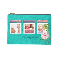 Kids By Joely   Cosmetic Bag (large)   Tovz5s0tav09   Www Artscow Com Front