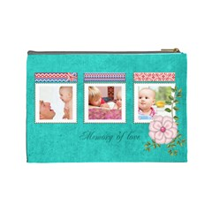 Kids By Joely   Cosmetic Bag (large)   Tovz5s0tav09   Www Artscow Com Back