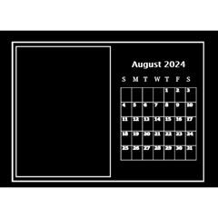My Perfect Desktop Calendar (8 5x6) By Deborah   Desktop Calendar 8 5  X 6    Eymssthm1rfn   Www Artscow Com Aug 2018