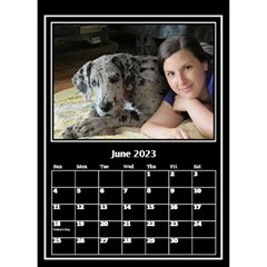 My Perfect Desktop Calendar (6x8 5) By Deborah   Desktop Calendar 6  X 8 5    Jlhx5eazacuc   Www Artscow Com Jun 2018