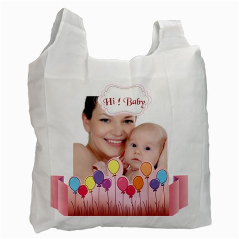 Baby By M Jan   Recycle Bag (one Side)   40w11mjlv9uh   Www Artscow Com Front
