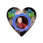 Fireworks Heart magnet - Magnet (Heart)