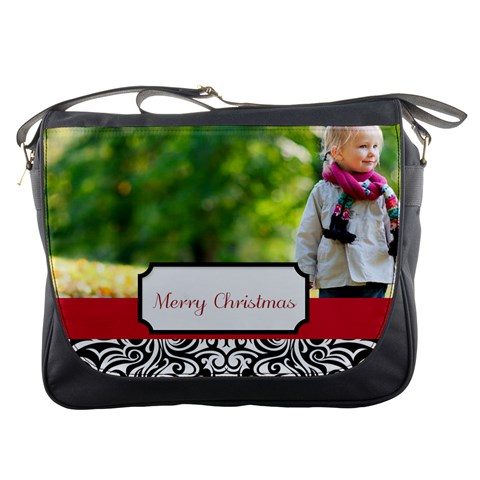 Xmas By May   Messenger Bag   6prr4d87pnwa   Www Artscow Com Front