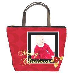 Xmas By May   Bucket Bag   Tqo1vtd0sqh6   Www Artscow Com Front