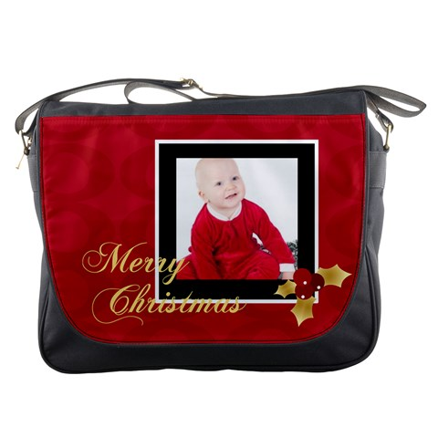 Xmas By May   Messenger Bag   S4s3zgqh6dn4   Www Artscow Com Front