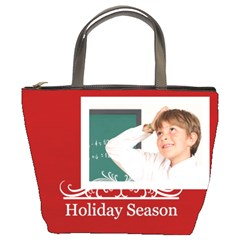 Xmas By May   Bucket Bag   77bts5goptfq   Www Artscow Com Front