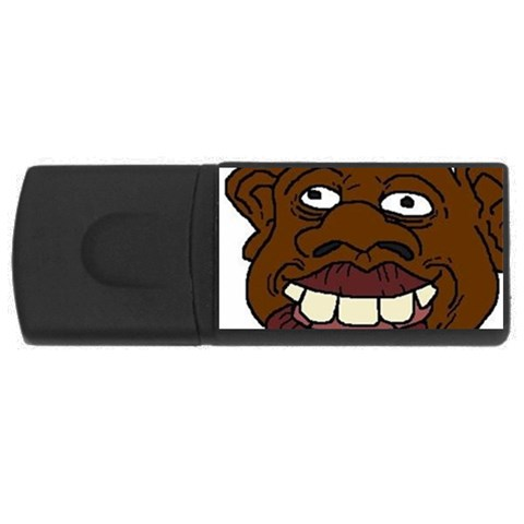 By Reggie Fils   Usb Flash Drive Rectangular (4 Gb)   Sy78hgllvgwe   Www Artscow Com Front
