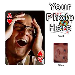 Ace The Epitome Of G  By Reggie Fils   Playing Cards 54 Designs   404d0xpqoli8   Www Artscow Com Front - HeartA