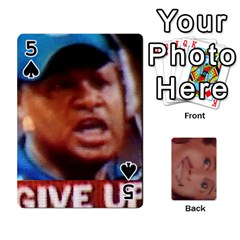 The Epitome Of G  By Reggie Fils   Playing Cards 54 Designs   404d0xpqoli8   Www Artscow Com Front - Spade5
