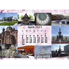 Our Travels Desktop 8 5x6  Calendar By Deborah   Desktop Calendar 8 5  X 6    881clnqpm53v   Www Artscow Com Apr 2018