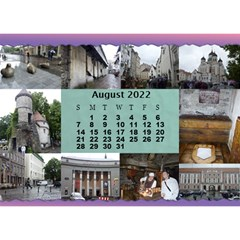 Our Travels Desktop 8 5x6  Calendar By Deborah   Desktop Calendar 8 5  X 6    881clnqpm53v   Www Artscow Com Aug 2018