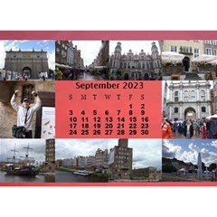Our Travels Desktop 8 5x6  Calendar By Deborah   Desktop Calendar 8 5  X 6    881clnqpm53v   Www Artscow Com Sep 2018