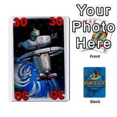 For Sale By Xavi Canas   Playing Cards 54 Designs   At19izs2flb4   Www Artscow Com Front - Heart5