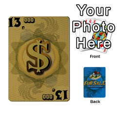 For Sale By Xavi Canas   Playing Cards 54 Designs   At19izs2flb4   Www Artscow Com Front - Spade5