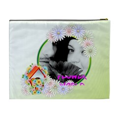 Flower By May   Cosmetic Bag (xl)   Kmz9230i7b8c   Www Artscow Com Back