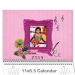 Wall Calendar (11 x 8.5) - My Rock Princess - Wall Calendar 11  x 8.5  (12-Months)