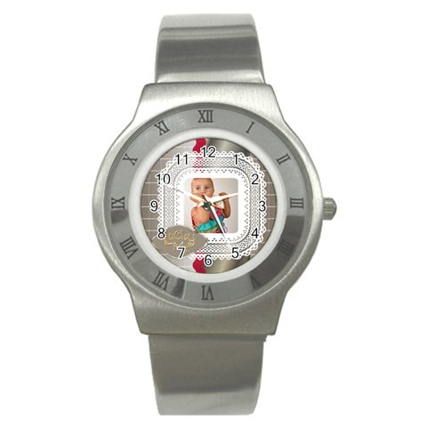 Lucky Me By Man   Stainless Steel Watch   Xwoojndexr0u   Www Artscow Com Front