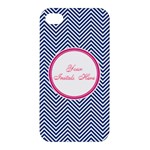 iphone blue and pink case - Apple iPhone 4/4S Premium Hardshell Case