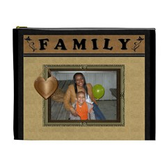 Ms Winters Family By Meredith Hazel   Cosmetic Bag (xl)   U7v4bnbi9nsa   Www Artscow Com Front