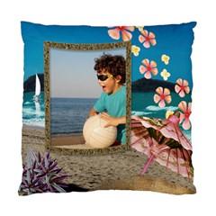 Beach House Cushion Cover By Deborah   Standard Cushion Case (two Sides)   Dk1r94av0h9c   Www Artscow Com Back