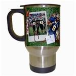 Football-Travel Mug - Travel Mug (White)