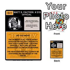 Deck 02 By Matthew Head   Multi Purpose Cards (rectangle)   2a577m58moc0   Www Artscow Com Back 9