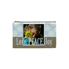 Love By M Jan   Cosmetic Bag (small)   83rr7hys3p8l   Www Artscow Com Front