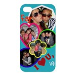 faiges bday pres - Apple iPhone 4/4S Hardshell Case