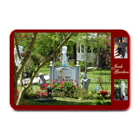 Jireh Manor By Darlene Chauvin   Plate Mat   H2o42znqvzxg   Www Artscow Com 18 x12 Plate Mat - 1