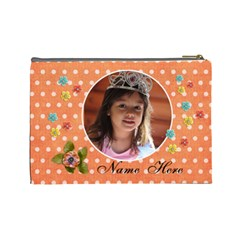 (l) Cosmetic Bag  Princess By Jennyl   Cosmetic Bag (large)   Y6xauumy8sbi   Www Artscow Com Back