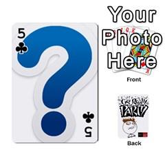 Beber By Rodrigo   Playing Cards 54 Designs   Lrwos3wfoc5o   Www Artscow Com Front - Club5