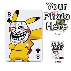 Beber By Rodrigo   Playing Cards 54 Designs   Lrwos3wfoc5o   Www Artscow Com Front - Club8