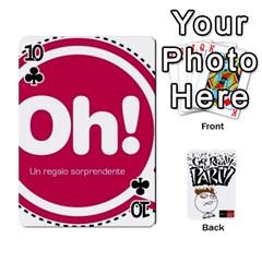 Beber By Rodrigo   Playing Cards 54 Designs   Lrwos3wfoc5o   Www Artscow Com Front - Club10