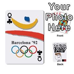 Queen Beber By Rodrigo   Playing Cards 54 Designs   Lrwos3wfoc5o   Www Artscow Com Front - ClubQ