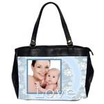 love - Oversize Office Handbag (2 Sides)