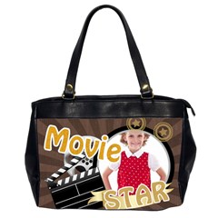 Movie Star By M Jan   Oversize Office Handbag (2 Sides)   Z42npza4gmqn   Www Artscow Com Front