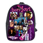 bon jovi - School Bag (Large)