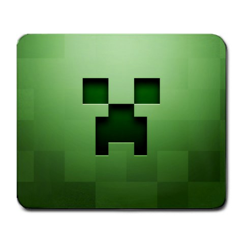 Minecraft Creeper Mousepad By Lord Comisario   Large Mousepad   O602wxp90dea   Www Artscow Com Front