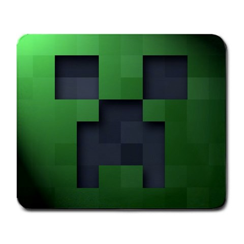 Minecraft Creeper Mousepad By Lord Comisario   Large Mousepad   Ss6hywl42vda   Www Artscow Com Front