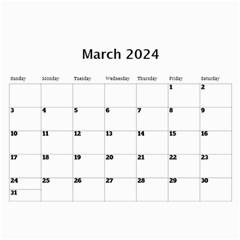 Happy Days Calendar (any Year) By Deborah   Wall Calendar 11  X 8 5  (12 Months)   9pzstgrhsjse   Www Artscow Com Mar 2018