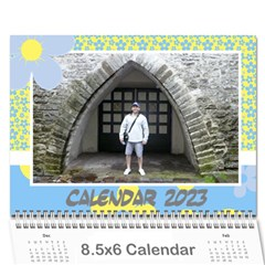 Happy Days (any Year) Mini Wall Calendar By Deborah   Wall Calendar 8 5  X 6    Vlrlc7elrcgj   Www Artscow Com Cover