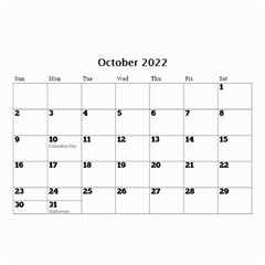 Happy Days (any Year) Mini Wall Calendar By Deborah   Wall Calendar 8 5  X 6    Vlrlc7elrcgj   Www Artscow Com Oct 2017
