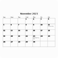 Happy Days (any Year) Mini Wall Calendar By Deborah   Wall Calendar 8 5  X 6    Vlrlc7elrcgj   Www Artscow Com Nov 2017