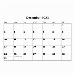 Happy Days (any Year) Mini Wall Calendar By Deborah   Wall Calendar 8 5  X 6    Vlrlc7elrcgj   Www Artscow Com Dec 2017