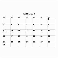 Happy Days (any Year) Mini Wall Calendar By Deborah   Wall Calendar 8 5  X 6    Vlrlc7elrcgj   Www Artscow Com Apr 2017