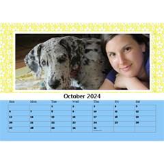 Happy Days Desktop Calendar (any Year) 8 5x6 By Deborah   Desktop Calendar 8 5  X 6    Hplk4umzimrn   Www Artscow Com Oct 2018