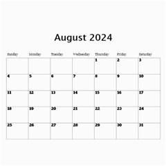 Sunny Days Wall Calendar By Deborah   Wall Calendar 11  X 8 5  (12 Months)   Oa9wiy0609f3   Www Artscow Com Aug 2018