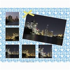 Sunny Days Wall Calendar By Deborah   Wall Calendar 11  X 8 5  (12 Months)   Oa9wiy0609f3   Www Artscow Com Month