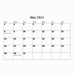 Sunny Days Mini Wall Calendar By Deborah   Wall Calendar 8 5  X 6    Me3fi3j2z7kz   Www Artscow Com May 2017